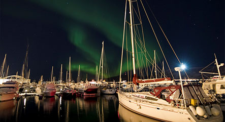 Northern Lights Yacht Charter